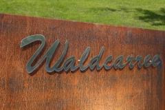 Waldcarree-Schild